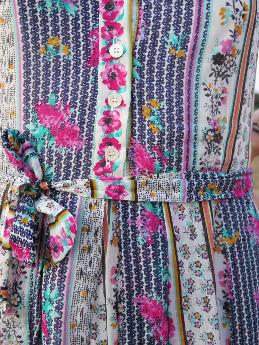 dress, midi, vestido midi, vestido flores, flowers, ailanto, rebeca valdivia, miss clov, personal shopper, donostia