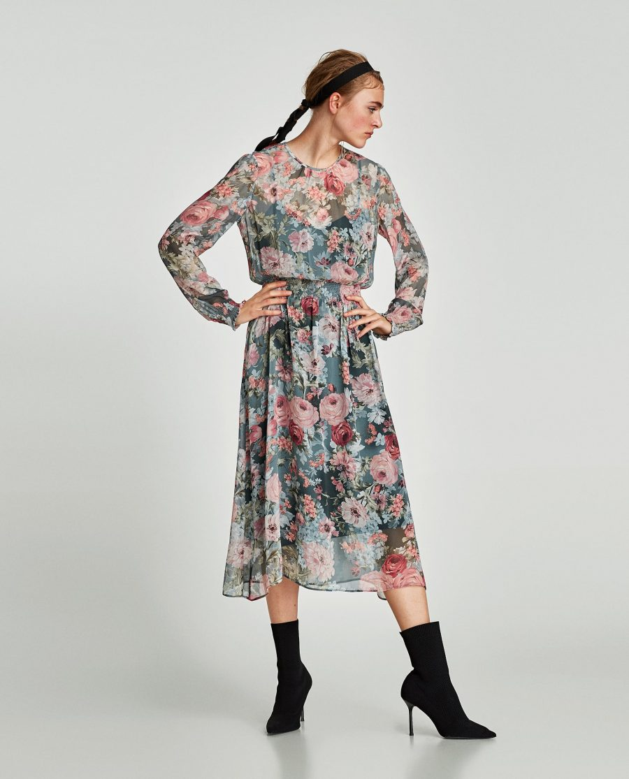 Rebeca Valdivia, personal shopper, estilista, stilist, Donostia, San Sebastián, Miss Clov, inspiration, inspo, inspiración, dress, grandmother's dress, vestido de la abuela, flowers dress, vestido de flores, vintage