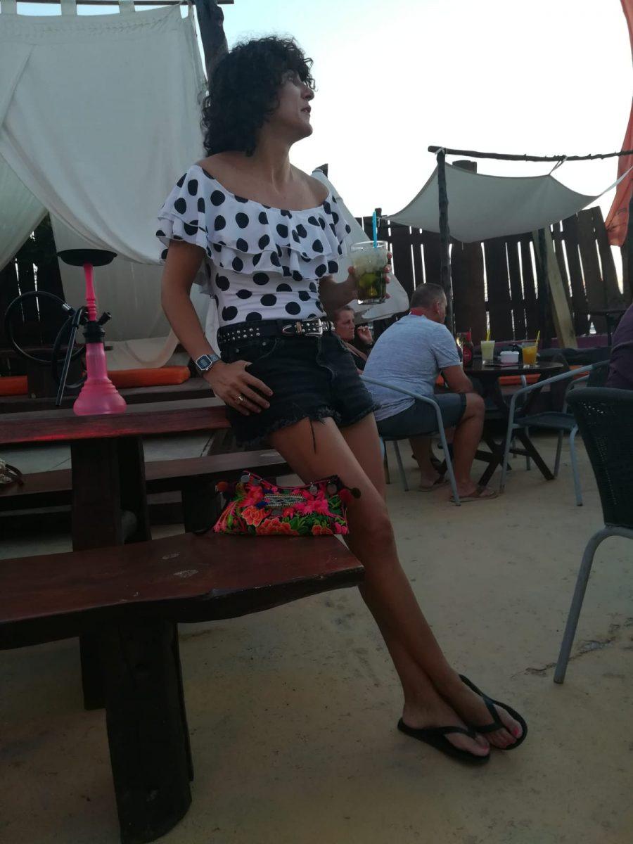 Rebeca Valdivia, asesora de imagen, personal shopper, estilista, stilist, influencer, la blogger indie, Donostia, San Sebastián, Miss Clov, travel, viajes, Ibiza, Kumharas, sunset, beach, summer, holidays