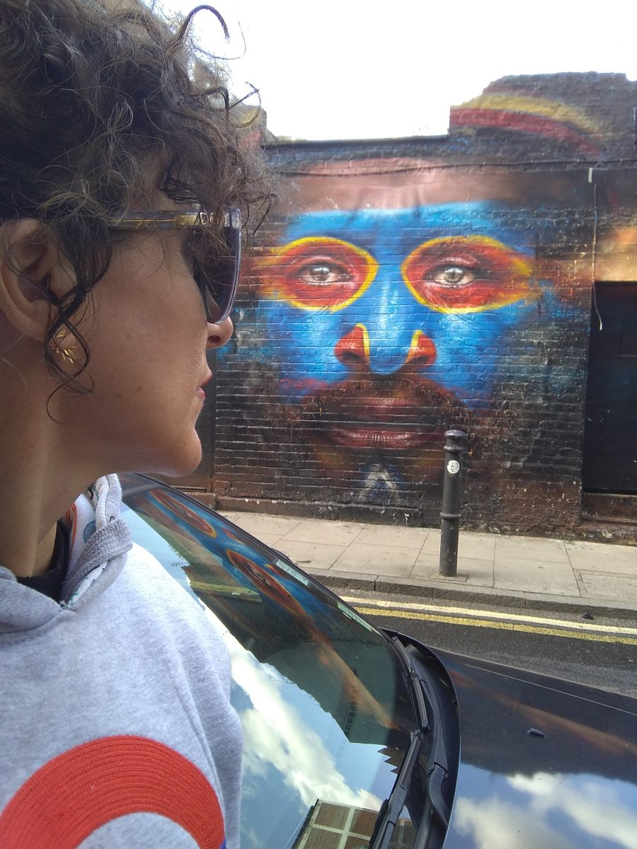 Rebeca Valdivia, asesora de imagen, personal shopper, Miss Clov, la blogger indie, Londres, London, viajes, travel, summer, Brick lane, graffiti, arte urbano, Dale Grimshaw
