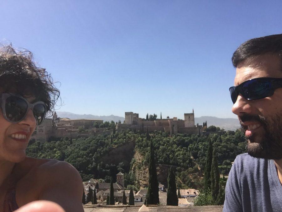 alhambra, granada, albaicín, travel, holidays, summer, vacaciones, maxi dres, maxi vestido, mirador de sin nicolas, viaje de hermanos