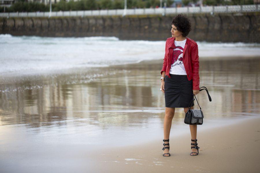 Zergatik, concurso bloggers, donostia, what,s your style missclov, Rebeca Valdivia, falda lápiz, bolso bandolera