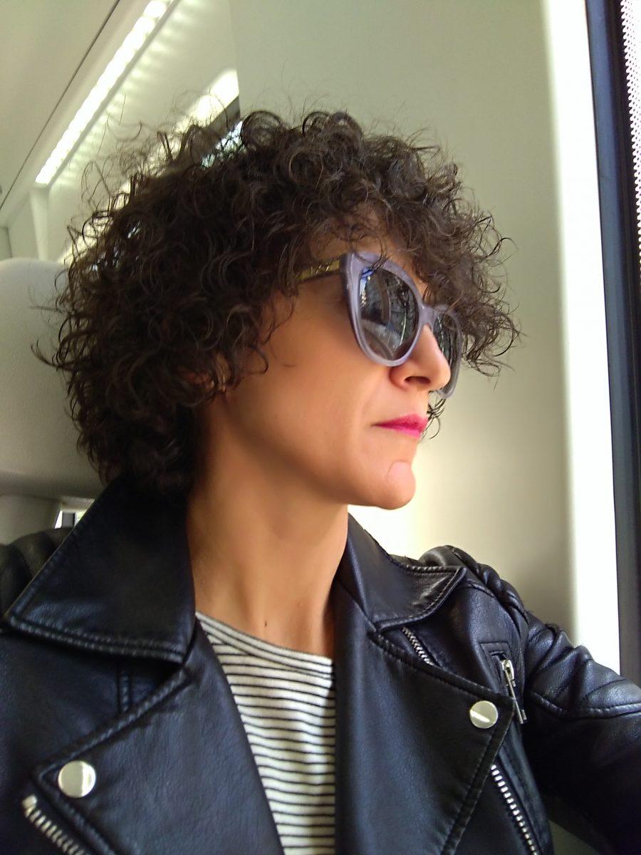 Miss Clov, Rebeca Valdivia, travels, viajes, Barcelona, perfecto cuero, biker