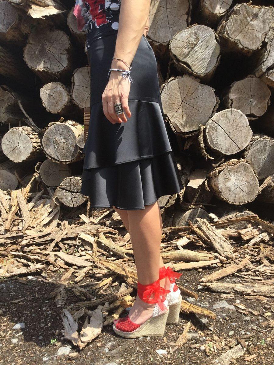 Rebeca Valdivia, Miss Clov, personal shopper, Donostia, San Sebastián, inspo, inspiración, inspiration, tendencia, trendy, lunares, polka dots, frills, espadrilles, alpargatas, madehand, made in spain, perfecto vaquero, denim biker, flowers, curlpower, curls