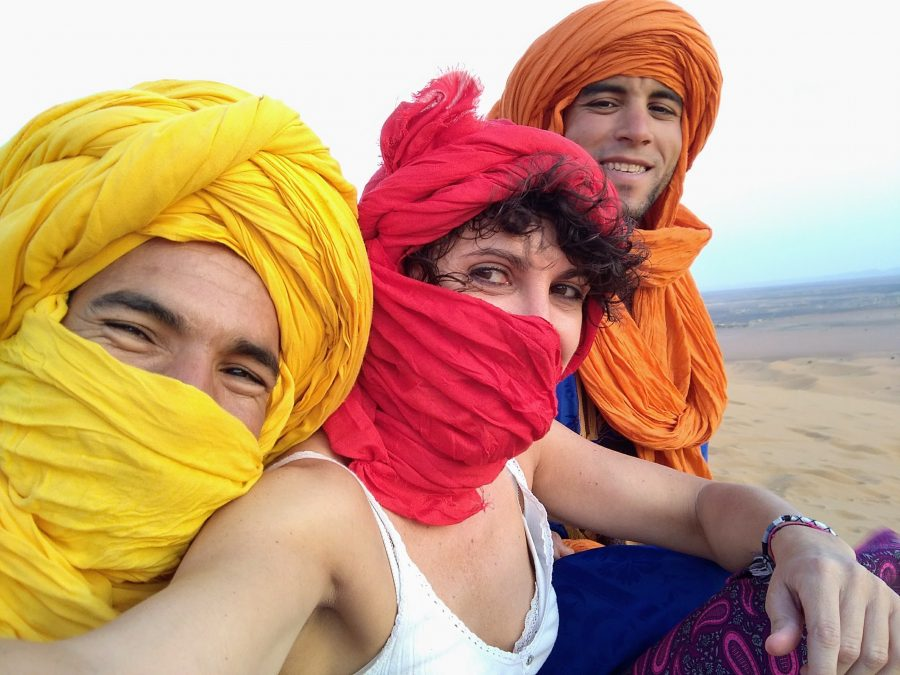 Miss Clov, Rebeca Valdivia, personal shopper, travel, trip, Moroco, Sahara, Atlas, Marrueco, desierto del Sahara, desert, Merzouga, amanecer, sunrise