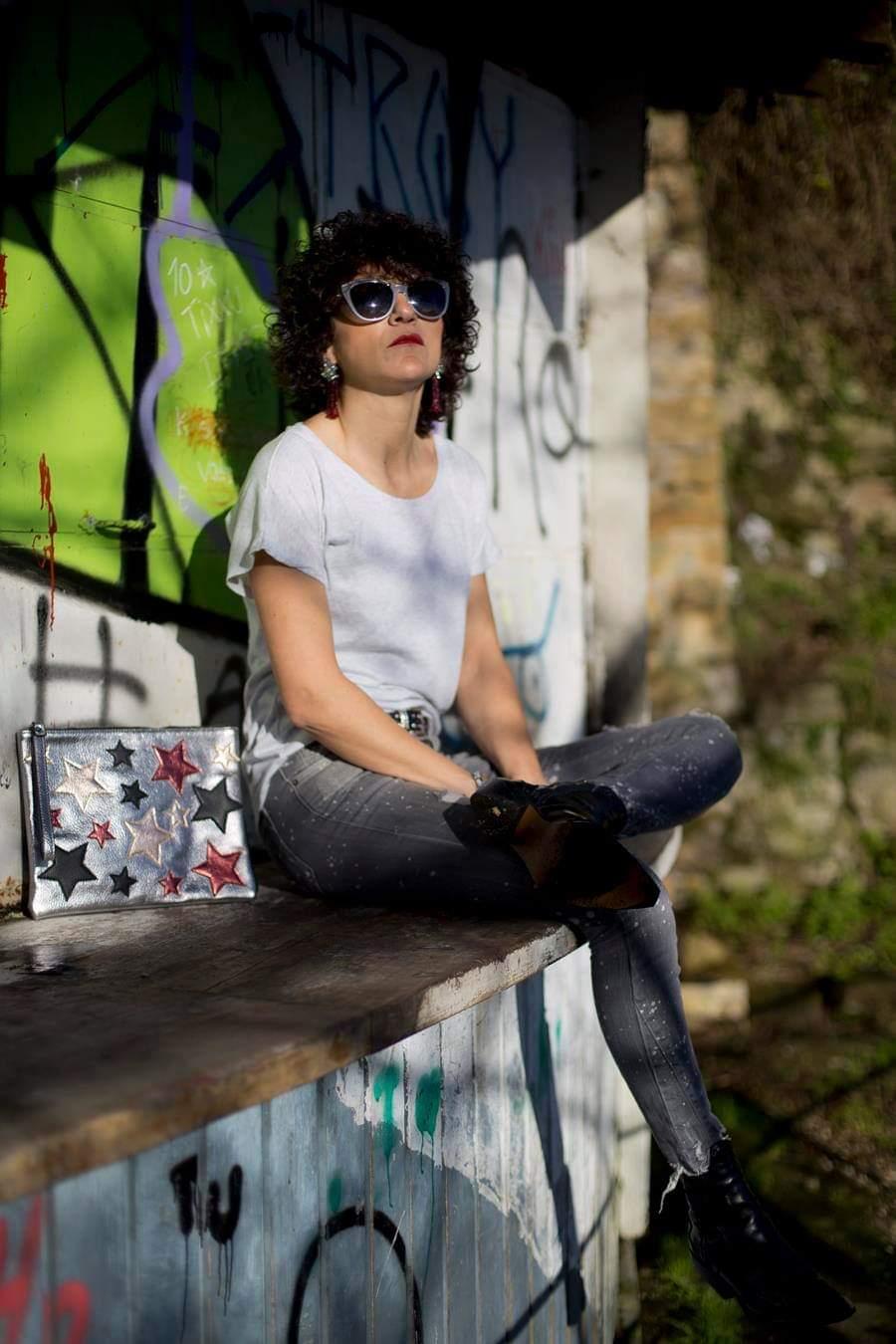 Rebeca Valdivia, asesora de imagen, personal shopper, estilista, stilist, influencer, Donostia, San Sebastián, Miss Clov, la blogger indie, influencer, cowgirl, Jeans, Denim