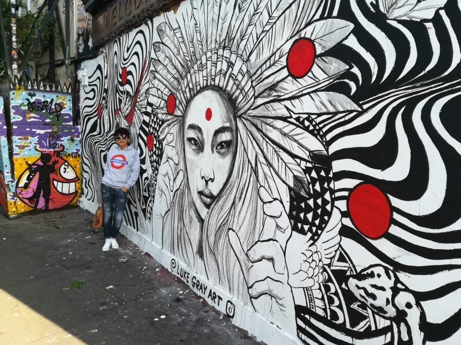 Rebeca Valdivia, asesora de imagen, personal shopper, Miss Clov, la blogger indie, Londres, London, viajes, travel, summer, Brick lane, graffiti, arte urbano, Luke Gray