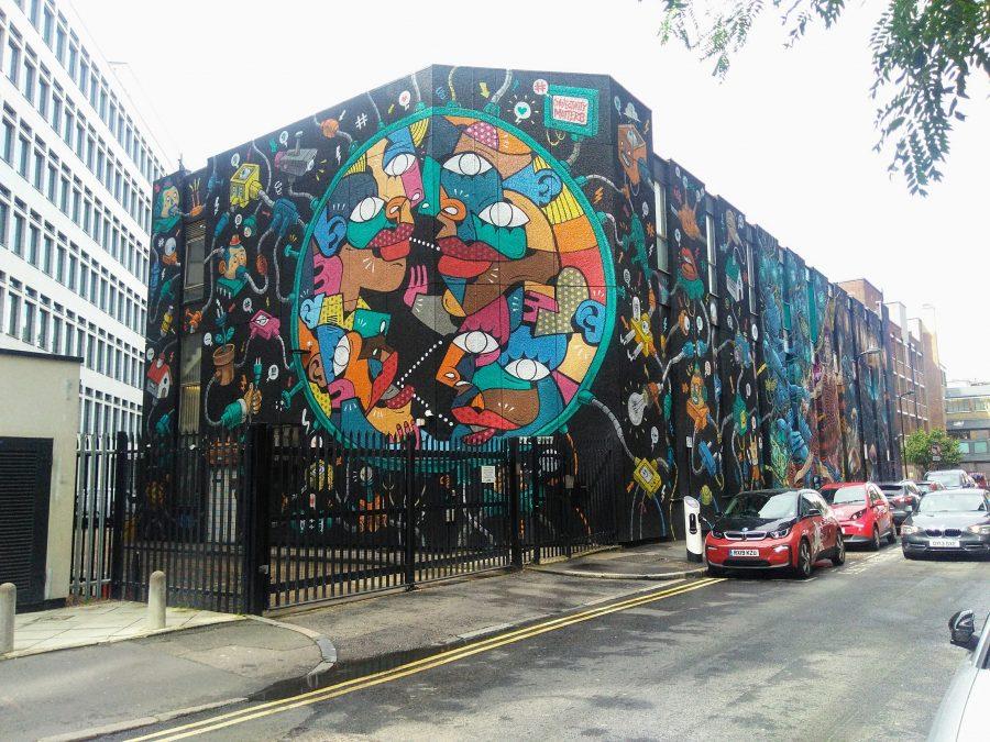 Rebeca Valdivia, asesora de imagen, personal shopper, Miss Clov, la blogger indie, Londres, London, viajes, travel, summer, Brick lane, graffiti, arte urbano,