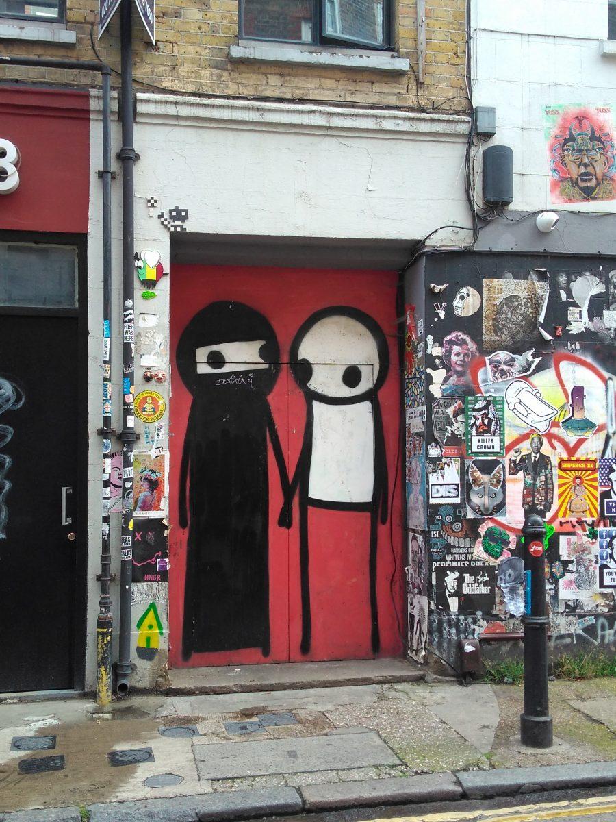 Rebeca Valdivia, asesora de imagen, personal shopper, Miss Clov, la blogger indie, Londres, London, viajes, travel, summer, Brick lane, graffiti, tolerancia, Stik